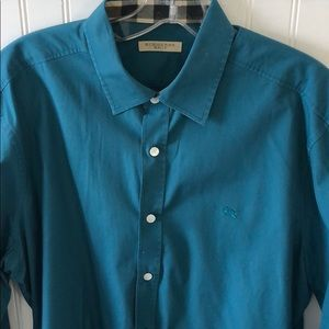Authentic Real Burberry Brit Teal long Sleeve L